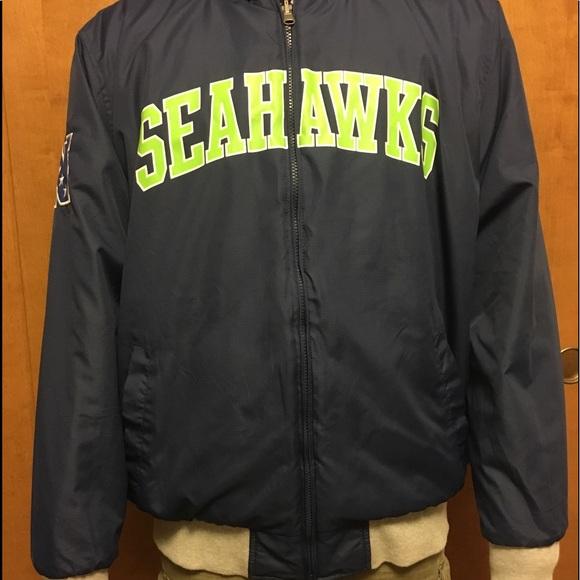 newest efde4 fc33f Men's Seahawk Reversible Fleece Full-zip Jacket